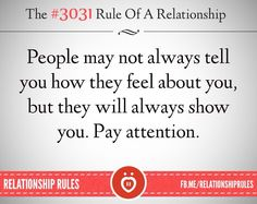 True pay attention...