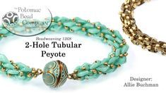 2-Hole Tubular Peyote Stitch (Tutorial)