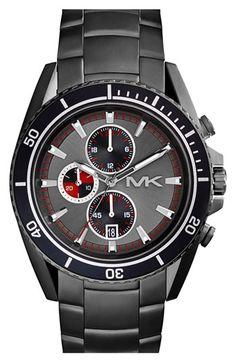 MICHAEL Michael Kors Michael Kors 'Lansing' Chronograph Bracelet Watch, 45mm available at #Nordstrom $275