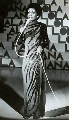 Lola Falana 70's TV Special wearing Bob Mackie