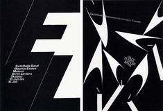 Hofmann saw his designs, in part, as didactic demonstrations of these principles. The posters he created in the late 1950s and 1960s for cultural clients such as the Kunsthalle Basel and the Stadttheater Basel possess great typographic and photographic purity of form.