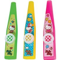 Hello Kitty Kazoos 3ct l Party City, 99 cents.