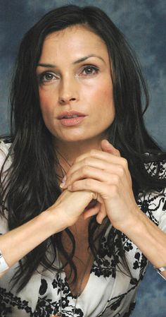 Cum on famke janssen seems