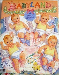 Babyland 2  These were my favorite paper dolls!!  I think my daughter still has them!