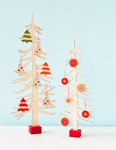 Tabletop Trees #Craft