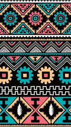 Vs Pink Wallpaper, Aztec Wallpaper, Graphic Wallpaper, Pattern Wallpaper, Wallpaper Backgrounds, Iphone Backgrounds, Screen Wallpaper, Iphone Wallpapers, African Art Paintings