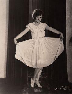 The Birthday Girl: Clara Bow! Born July 29, 1905 Fashion portrait circa 1927