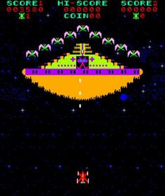 Phoenix, arcade, 1980. An early classic in the space shooter genre.