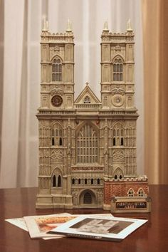 Dept. 56 Dickens Village Westminster Abbey - Mint Condition