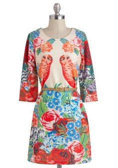 """Is it wrong that I love this dress? """"Search for a Perch Dress"""", #ModCloth"""