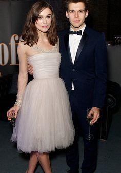 Keira Knightley // Recycled Chanel Wedding Dress