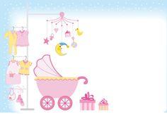 inv baby shower niña