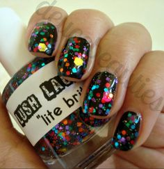 Lush Lacquer's Lite Brite swatched by Deuce Beauties