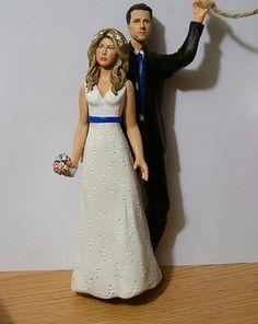 Custom Made Wedding Cake Toppers