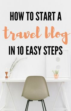 So you want to start a travel blog? This post will show you how to start a travel blog from scratch. It is a step by step guide with easy to follow instructions that will help you set up your travel blog in a day! Happy blogging!