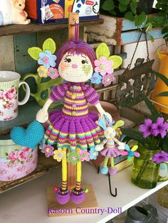 Beautiful Crochet, Amigurumi Doll, Crochet Dolls, Crochet Projects, Crochet Patterns, Country, Baby, Inspiration, Baby Dolls