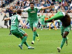 Claudio Pizarro anotó penal y llegó a los 180 goles en la historia de la Bundesliga