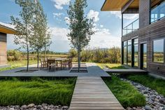 Shoshone is a private residence designed by Carney Logan Burke Architects. The 4,500-square-foot home is located in Wilson, Wyoming, USA