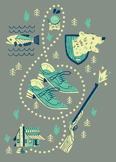 DaveyOwen-Folio-Illustration-Agency-Advertising-Editorial - Publishing - Graphic - Character - Technology - YellowBird