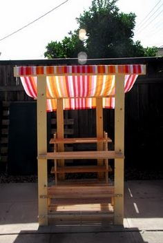 Ikea hack - play farmstand with directions