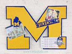 See all of our licensed U of M products. Go Blue!