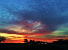 Cold Spring Sunrise #cold #sunrise #spring . Photo by MichiganSnowLvr