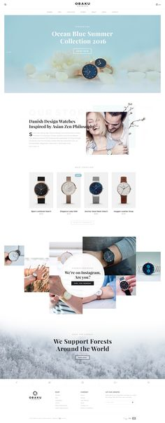 Obaku   home page redesign by kristijan binski
