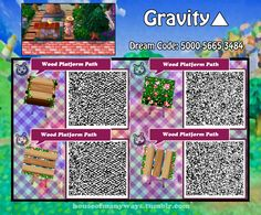 Animal Crossing: New Leaf & HHD QR Code Paths — houseofmanyways: The much anticipated wooden. Animal Crossing 3ds, Animal Crossing Qr Codes Clothes, Wood Path, Acnl Paths, Leaf Animals, Motif Acnl, Ac New Leaf, Happy Home Designer, V Games