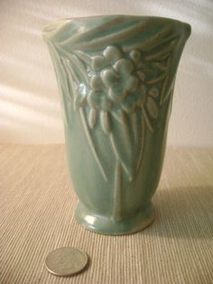 Vintage Matte Green McCoy Leaves and Berries by delovelyness, $49.65