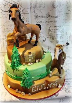 Spirit wild horse  - Cake by Sabrina Di Clemente