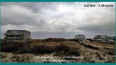 3 Acre Oceanfront OBX NC Lot for Sale   1477 Ocean Pearl Rd  #OuterBanksNCLotsForSale #BestRealEstateAgentsOnTheOuterBanksNC #JeanPaulPeron