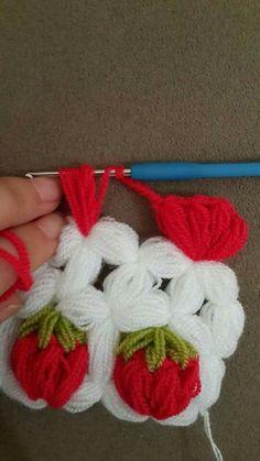 Motif dentelle au crochet n ° 1 d'Anabelia - Just DIY Crochet Afghans, Crochet Motifs, Crochet Cushions, Crochet Borders, Crochet Stitches Patterns, Filet Crochet, Crochet Designs, Crochet Girls, Diy Crochet