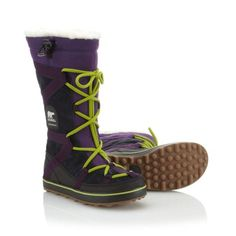 SOREL | Women's Glacy Explorer is a waterproof, fleece-lined winter boot | SOREL
