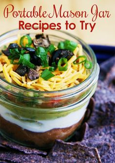 Check out these eight blogger recipes to be made or served in mason jars!