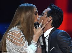 Jennifer Lopez & Marc Anthony Share Intimate Kiss At The Latin Grammy Awards    Jennifer Lopezand her former husbandMarc Anthonyshared a passionate kiss at theLatin Grammy Awardslast night and that was the major highlight of the entire event.  The former loverswho have 2 kids togetherhad performed on stage together after which J. Lo presented him with the Person of the Year award and a kiss which got the audience buzzing.  Despite being married to 28-year-oldShannon De Lima Marc has…