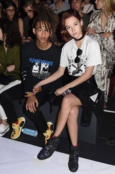 Jaden Smith and Sarah Snyder are making their HBA front row appearances a tradition.