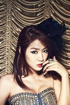 So You (소유) is a Korean pop singer. She is is the lead vocalist of the girl group SISTAR.