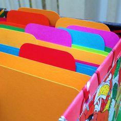 Artsyville File It Mini Folder Tut Labels Home Office Organization
