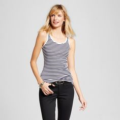 Women's Striped Favorite Tank