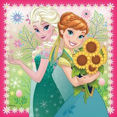 Elsa and Anna - Frozen Fever Photo - Fanpop Film Frozen, Anna Frozen, Anna Disney, Disney Frozen Elsa, Disney Love, Disney Art, Disney Wiki, Frozen Fever Party, Frozen Birthday Party