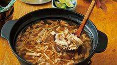 きのこスープ鍋 レシピ 栗原 はるみさん|【みんなのきょうの料理】おいしいレシピや献立を探そう