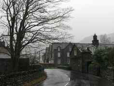 A lovely rainy day in the English Lake District Photo by Tony...