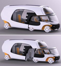 Concept camper van OMG would luv this :-) :-)