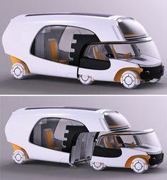 Concept camper van