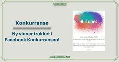 Konkurranse - Ny vinner av Gavekortet på 250 kroner fra iTunes Itunes, Chart