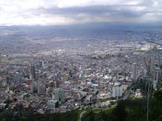 Bogotá, Colombia. View from Monserrate.
