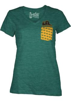 Baylor Bears Womens Short Sleeve Pocket T-Shirt