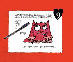 How to Draw a Love Monster Step 9
