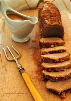 Pane, burro e alici: Girello di vitello arrosto con latte e profumato al Marsala