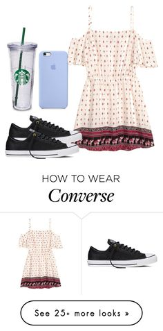 """Furniture shopping day"" by melw44 on Polyvore featuring H&M and Converse"